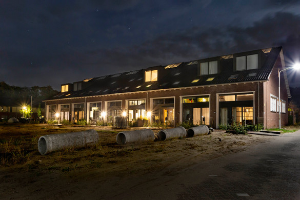 Contexture Architects Manegen Ede Exterior Night