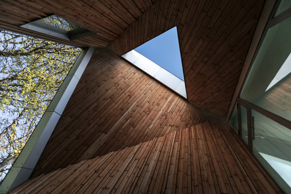 Healthcare Center Roof, Copenhagen, By NORD Architects