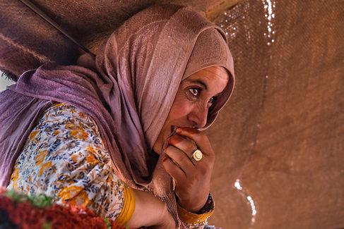 Nomad woman Sahara