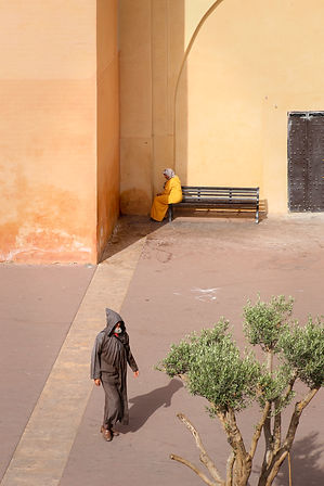 Witch couple Marrakech