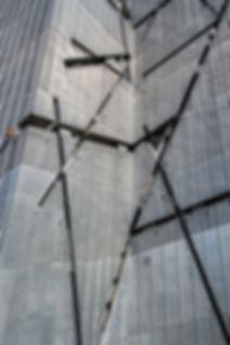 Jewish Museum Facade, Berlin by Daniel L