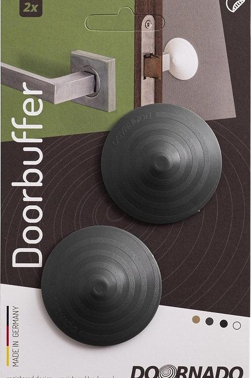 Doornado mini Deurbuffer Graphite (Zwart) 2 stuks