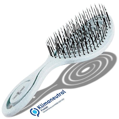 CHIARA AMBRA® Biologische haarborstel met stro, klimaatneutraal
