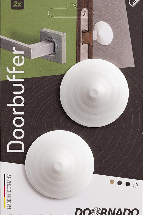 Doornado mini Deurbuffer Coco (Wit) 2 stuks