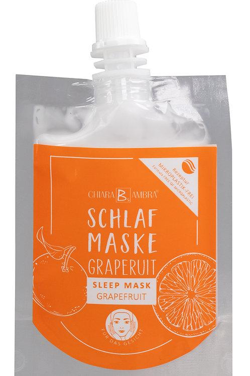 Chiara Ambra Slaapmasker | Grapefruit| Dermatologisch getest | Vegan