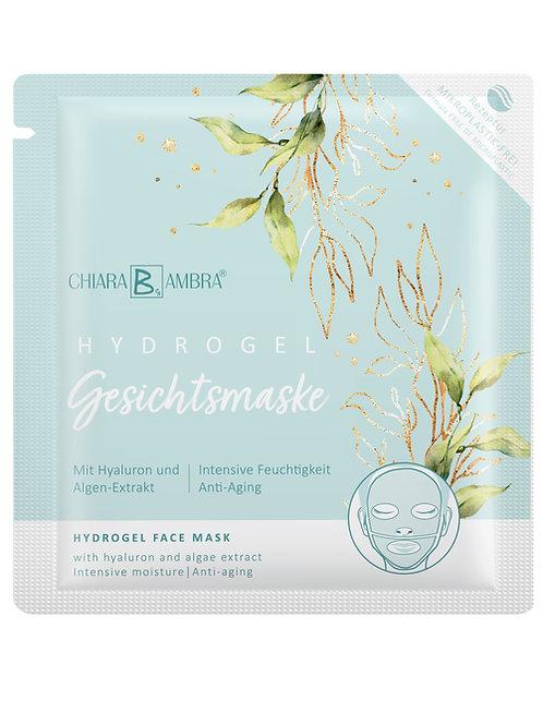 CHIARA AMBRA Transparant Hydrogel gezichtsmasker® met hyaluron en algenextract