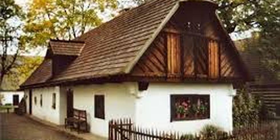 Výlet Klubu čtecích babiček a dědečků do skanzenu  v Přerově nad Labem