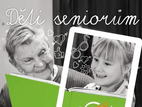 Děti čtou seniorům pohádky