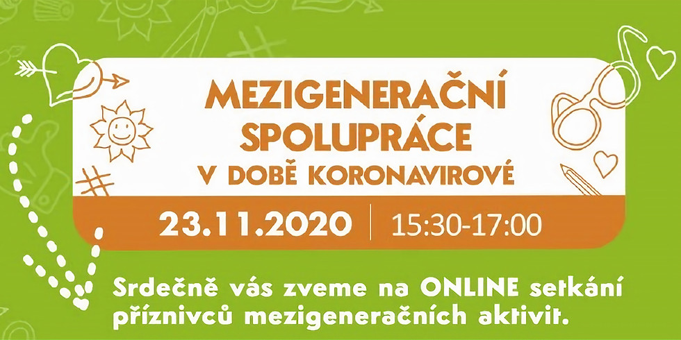 On-line workshop Mezigenerační spolupráce v době koronavirové