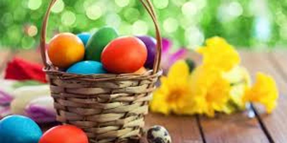 Online povídání a tvoření pro členy Klubu na téma Velikonoce