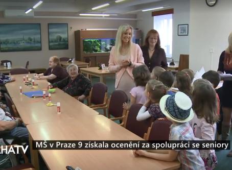 PRAHA TV zaznamenala předávání značky Mezigeneračně