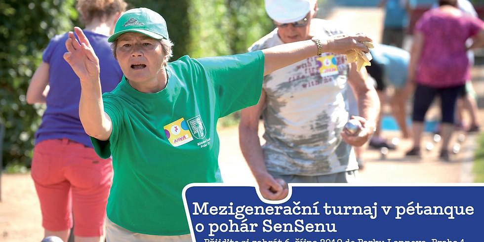 Mezigenerační turnaj v pétanque o putovní pohár SenSenu