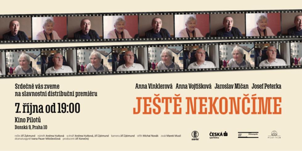 Premiéra dokumentu Ještě nekončíme pro Klub pohádkových čtecích babiček a dědečků