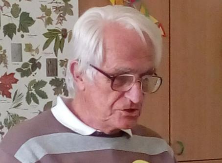 Vzpomínky čtecího dědečka pana Jiřího Grumlíka