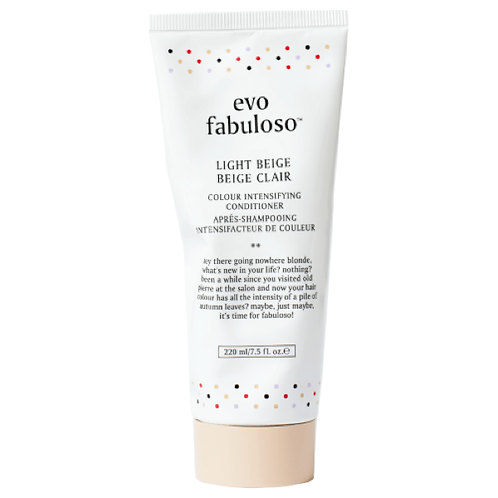 evo fabuloso light beige colour intensifying conditioner