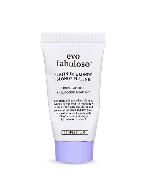evo Fabuloso Colour Boosting Conditioner/Treatment - Platinum (Travel Size)
