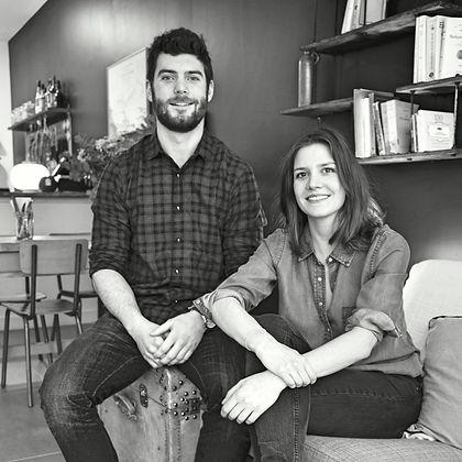 Charlotte Poumailloux et Julien Pontoizeau