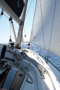 Eolos Bavaria 42 navegando