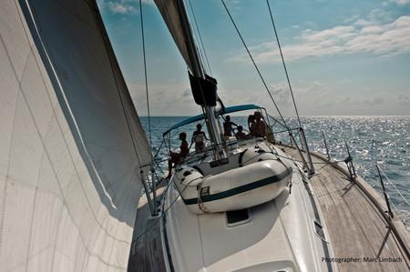 Caribia Bavaria 49 beim Segeln