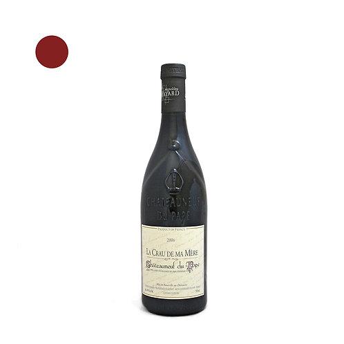 """Châteauneuf du Pape -Vignoble Mayard - """"La Crau de ma Mère"""" 2006"""