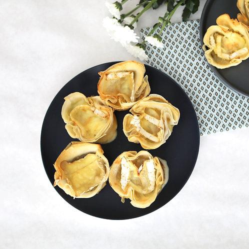Tartelettes Poire Neufchatel x10