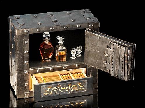 Cigar Humidor Antique Safe