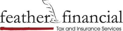 Feather Financial and Real Estate Logo