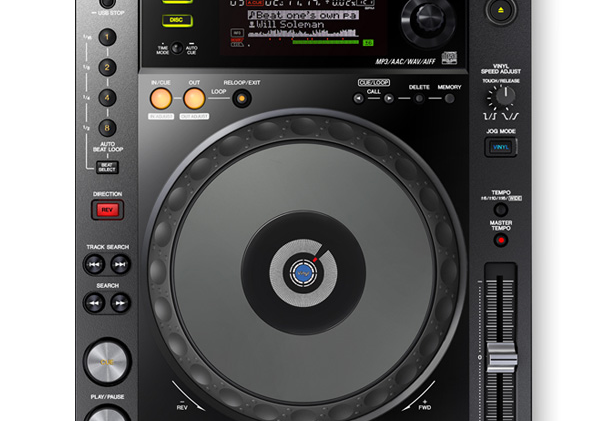 CDJ DJ Pionner 750