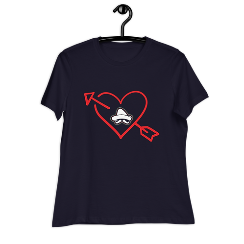 I HEART TACOS EL PATRON Women's Relaxed T-Shirt