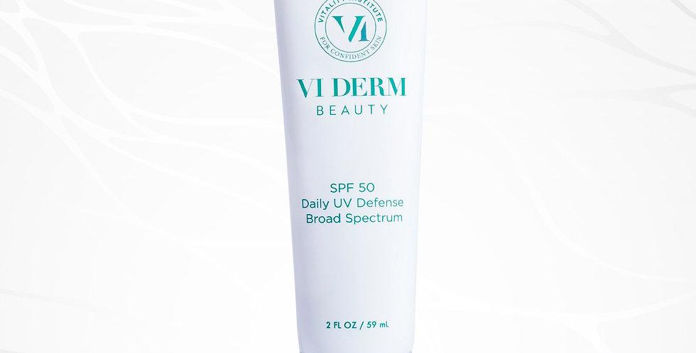 SPF 50 Daily UV Defense Broad Spectrum Sunscreen