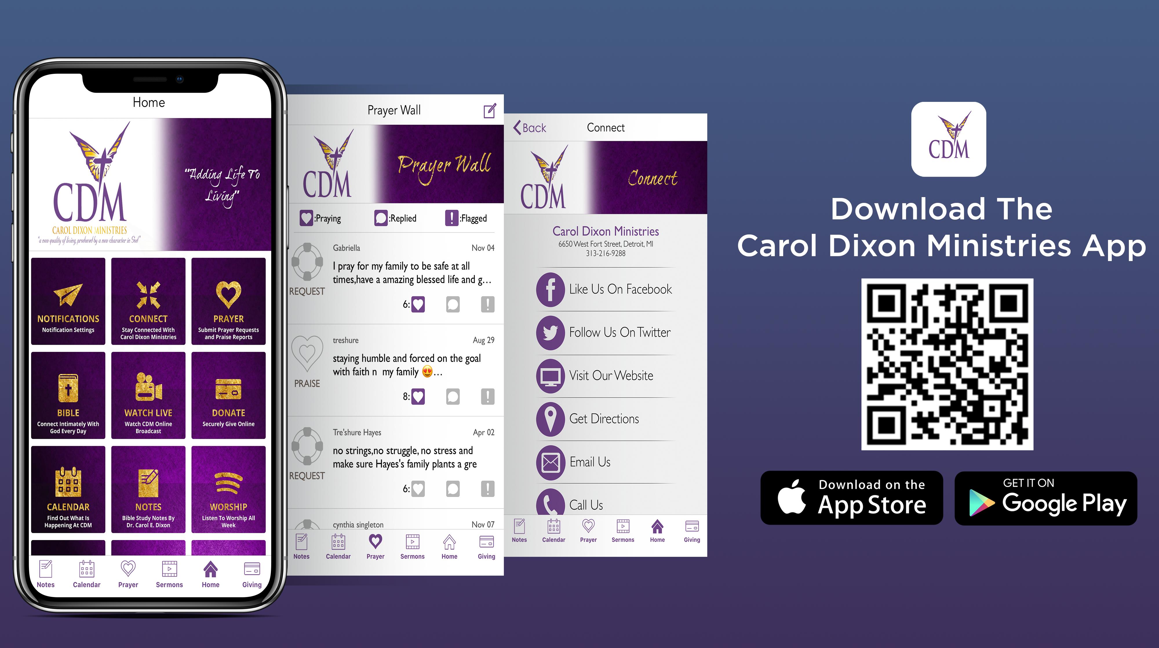 2020 CDM App Flyer