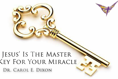 Jesus' Name Is The Major Key For Your Miracle
