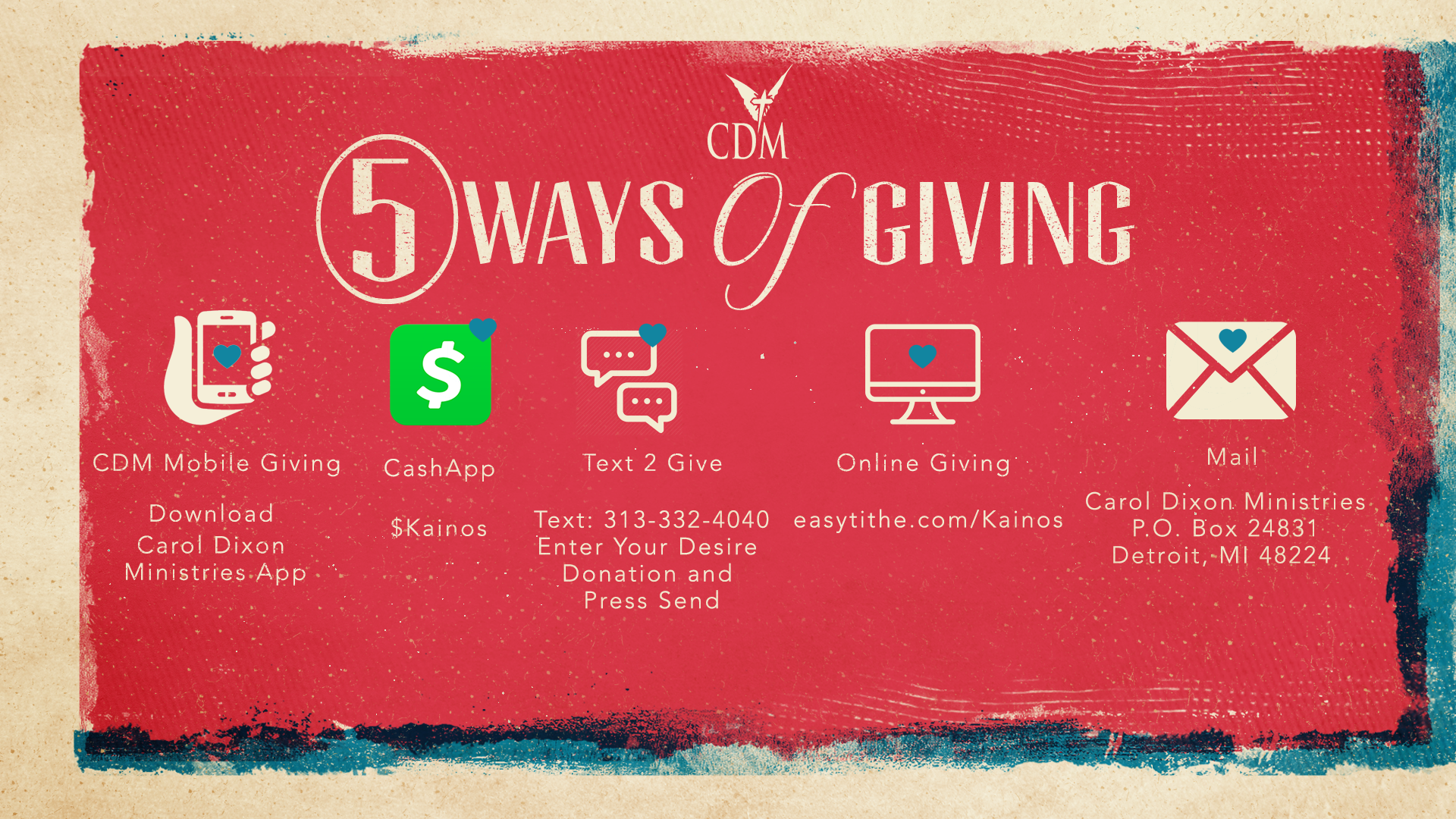 5 Ways of Giving