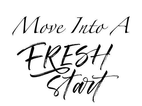Move Into A Fresh Start