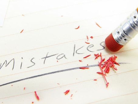 איזו טעות... על תיקונים ומחיקות בכתב היד