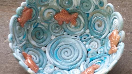 THURSDAYS - Polymer Clay Fish Bowl