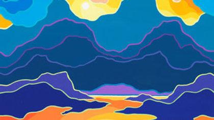 THURSDAYS - Ted Harrison Gouache Landscapes