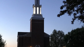 Lighting the Steeple - December 2020