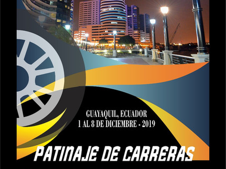 Guayaquil se prepara para el Sudamericano de Patinaje de Velocidad