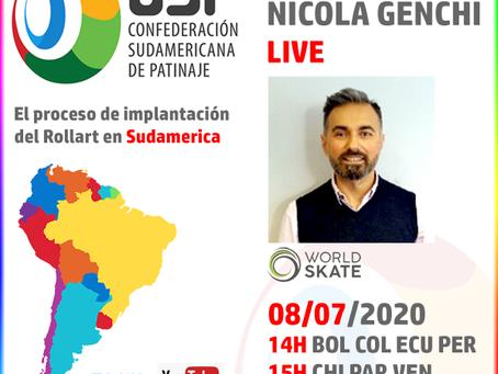 Live Nicola Genchi - 08/07/2020