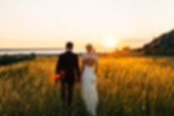 Bröllop vid Bläse Kalkbrusmuseum på Gotland