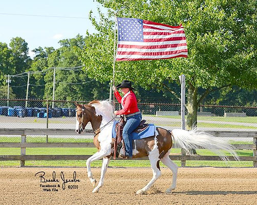 Red, White & Blue Charity Horse Show