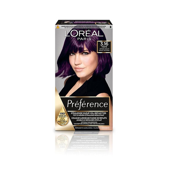 L'Oreal preference intens violet
