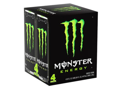 Monster green pack 4 pack