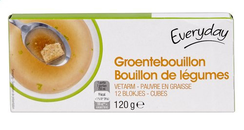 Everyday groenten bouillon