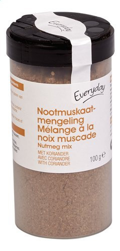 Everyday nootmuskaat