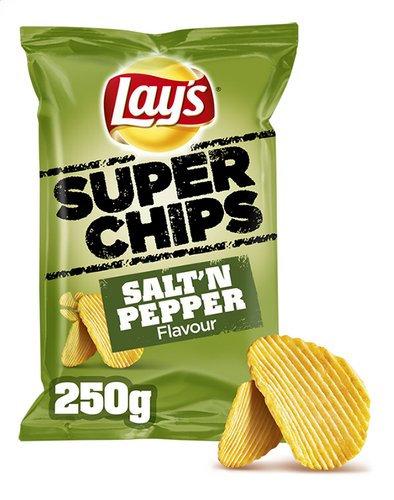 Lays superchips salt& pepper