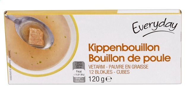 Everyday kippen bouillon