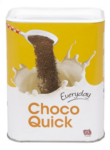 Everyday instant cacaopoeder