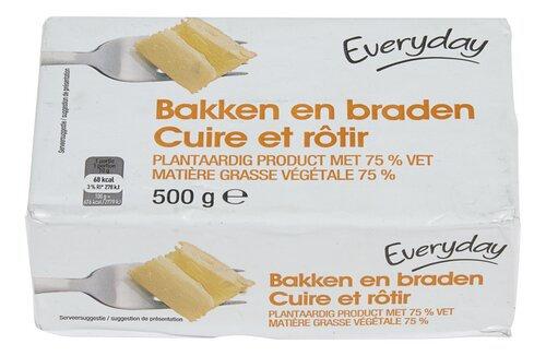 Everyday margarine bakken en braden